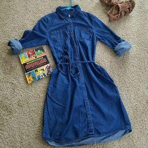 Trendy Jean Dress